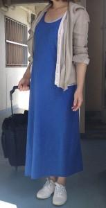 マタニティの服 ワンピと靴