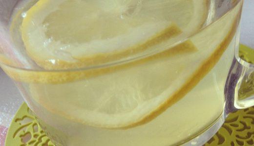はちみつレモンで疲労回復&水分補給