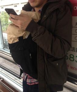 抱っこ紐新生児